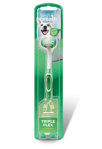 Tropiclean Triple Flex Toothbrush