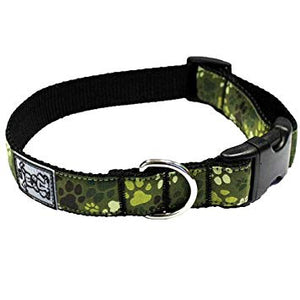 Pitter Patter Camo Clip Collar
