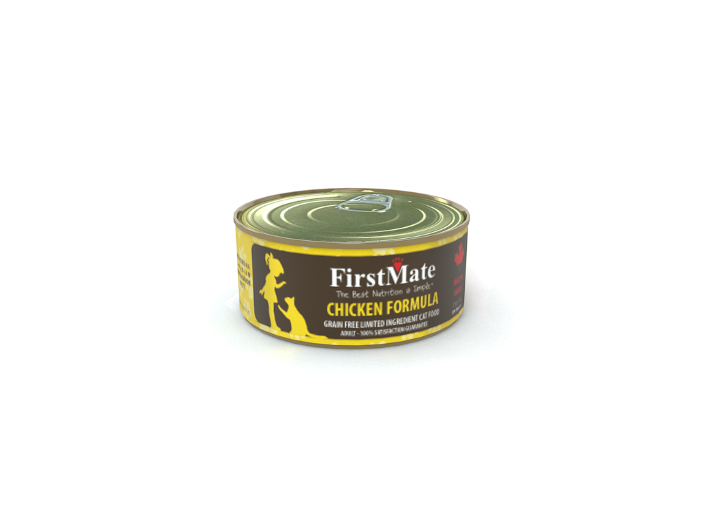 First Mate Chicken canned cat food