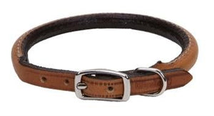 Circle T - Leather Round Collars  - Oak Tan