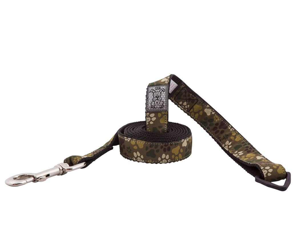 Pitter Patter Camo Leash - 6'