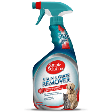 Simple Solution Pet Stain & Odor Remover Spray - 32oz