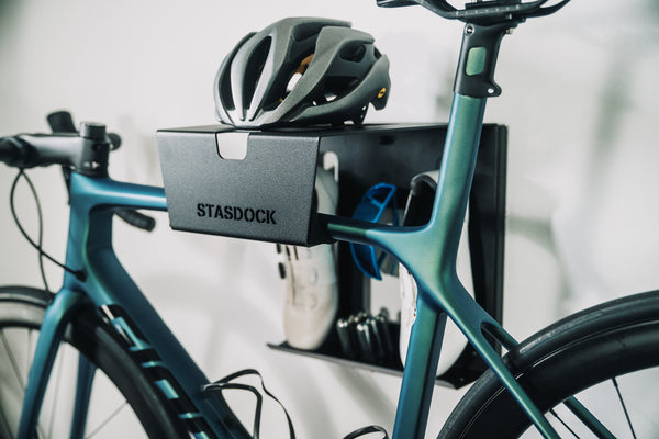 The compact bicycle suspension system Stasdock