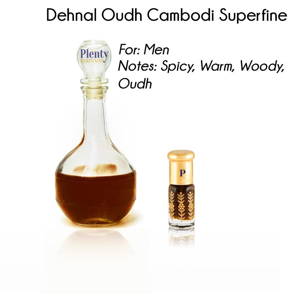 Perfume Oil Dehnal Oudh Cambodi Superfine 3ml - Plenty Perfumes