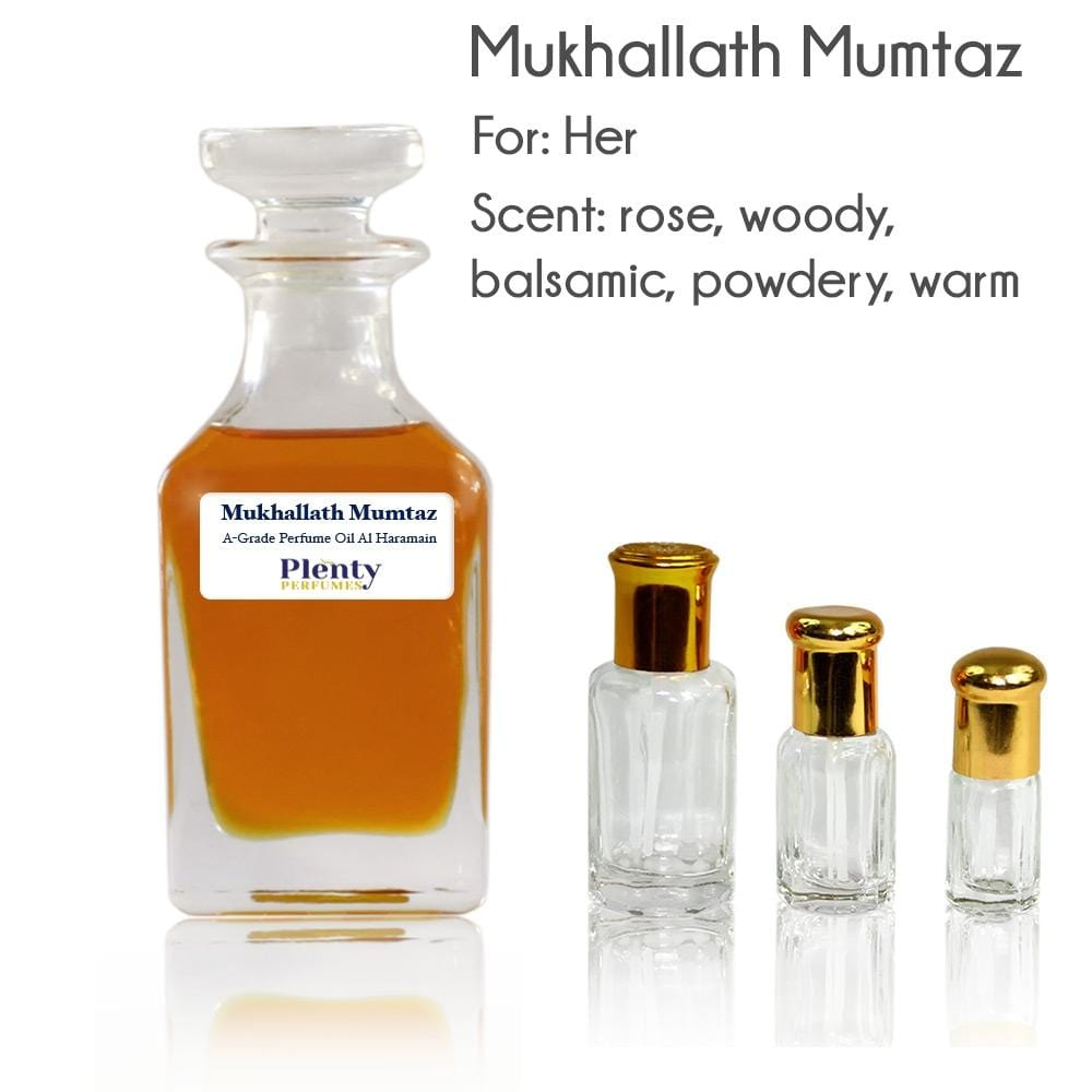 Mukhallath Mumtaz Al Haramain Perfume Oil Pure Attar - Plenty Perfumes
