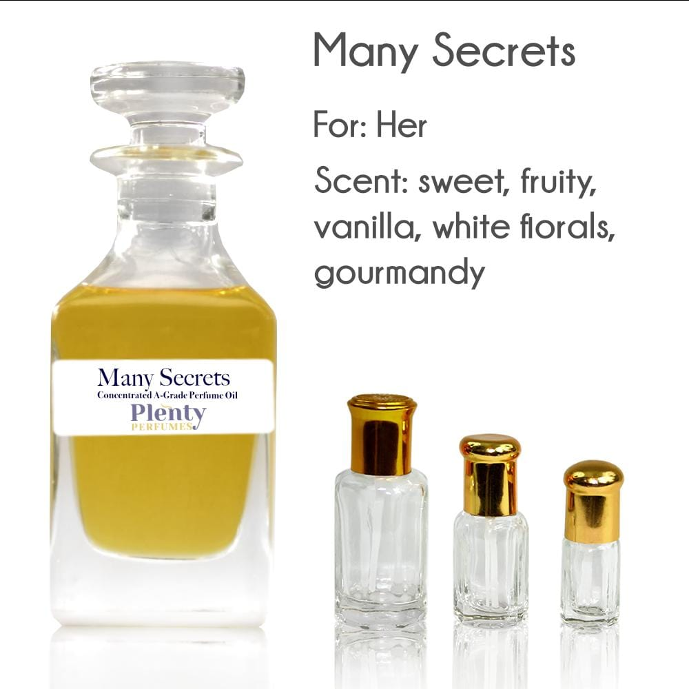 Perfume Oil Many Secrets - Plenty Perfumes