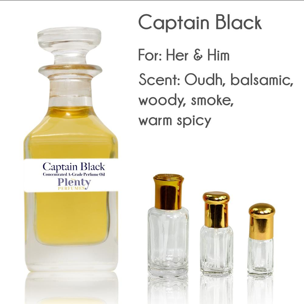 Perfume Oil Captain Black - Plenty Perfumes