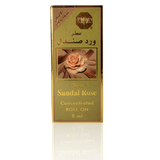Sandal Rose By Surrati 8ml Perfume Oil Attar Alcohol Free - Plenty Perfumes