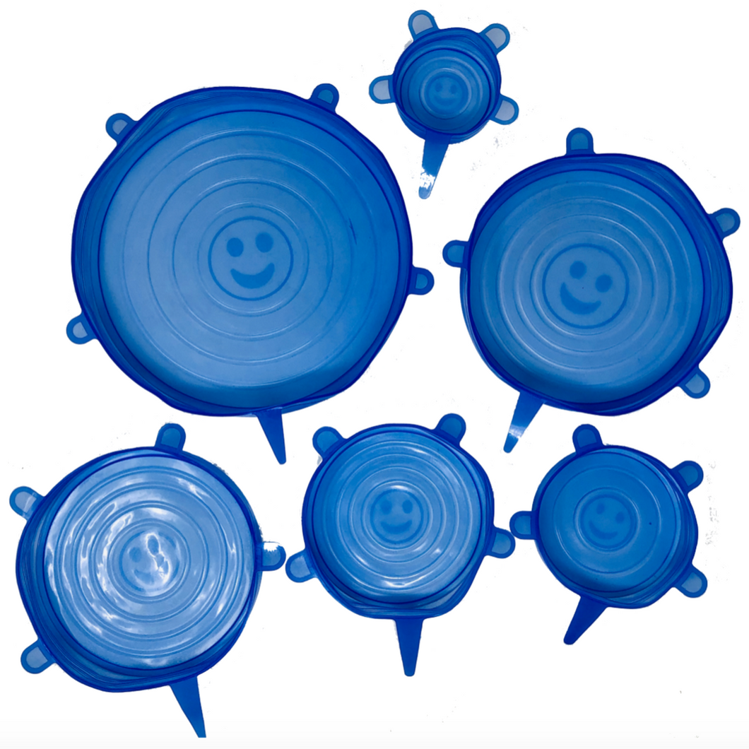 Silicone Bowl Covers - Set of 6