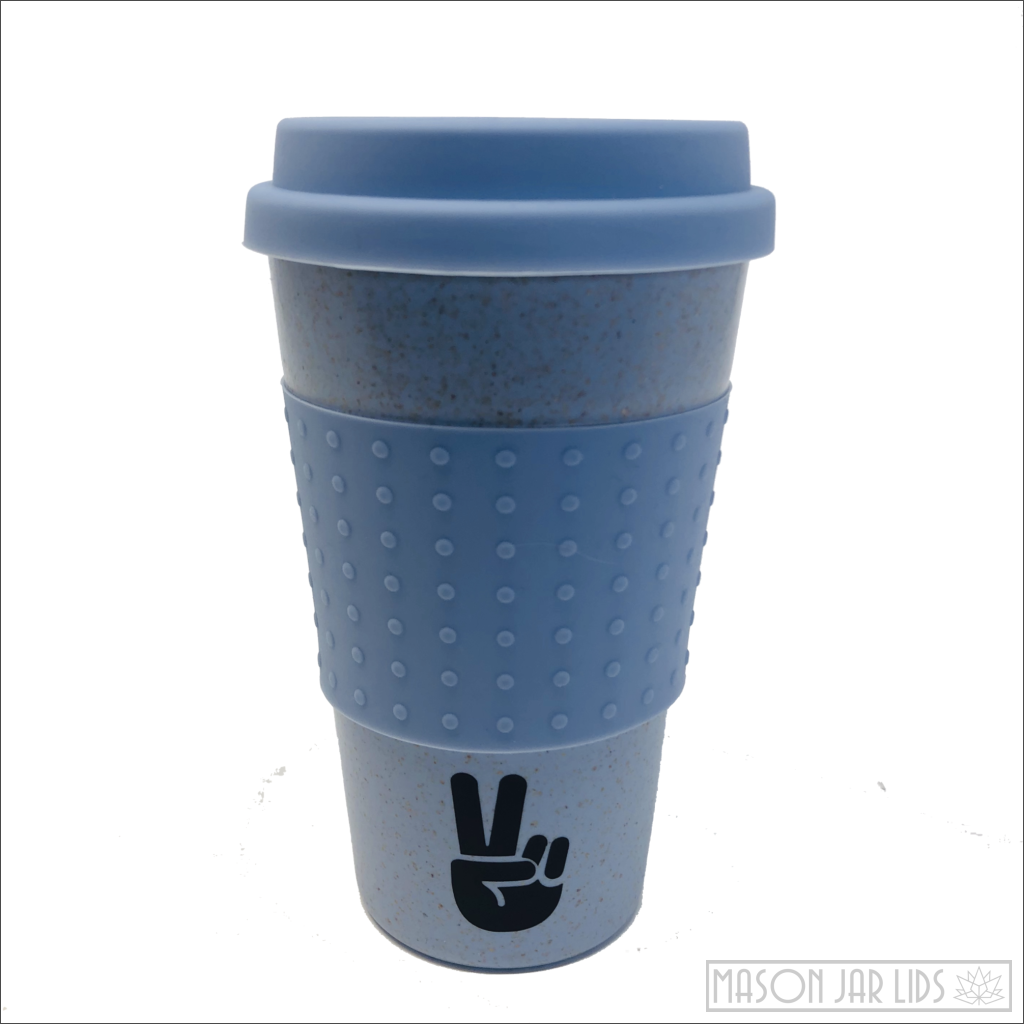 Wheat Straw Hot & Cold Reusable Cup - Be The Change Version