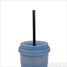 Load image into Gallery viewer, Wheat Straw Hot & Cold Reusable Cup - Be The Change Version