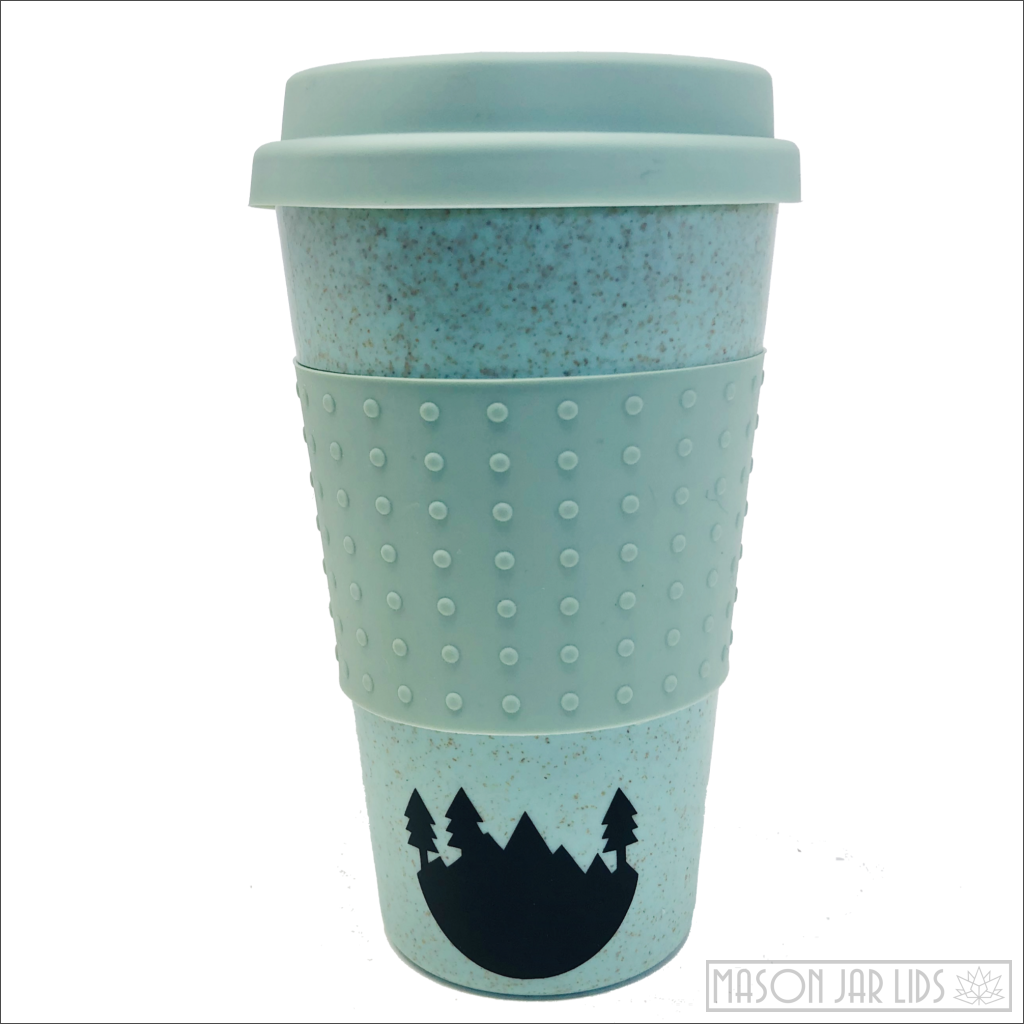 Wheat Straw Hot & Cold Reusable Cup - Into The Forest Version