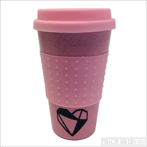 Wheat Straw Hot & Cold Reusable Cup - Love Version