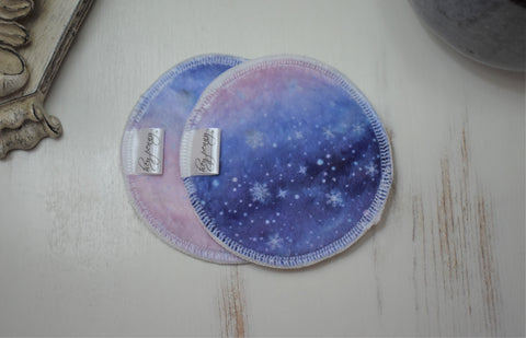 Snowflake Sunset - Moderate Breast Pads