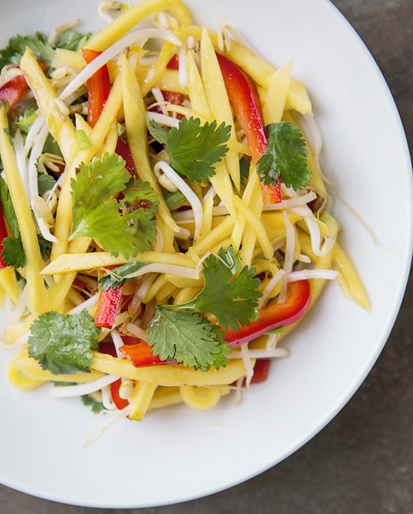 Mango + Papaya Cole Slaw