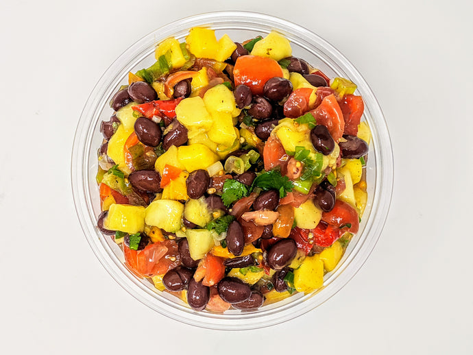 Black Bean + Mango Fresh Salsa