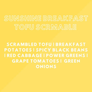 Meal Prep: Sunshine Breakfast Tofu Scramble