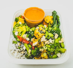 Meal Prep: Red Mango Curry Bowl