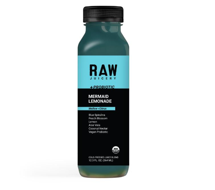 RAW JUICE: Mermaid Lemonade