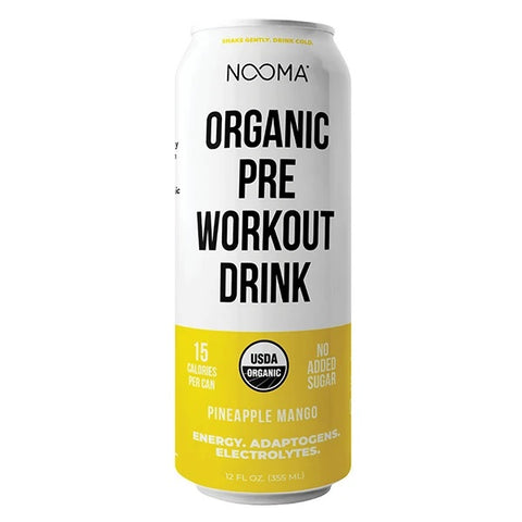 Nooma Organic- PINEAPPLE MANGO- Pre Workout Drink