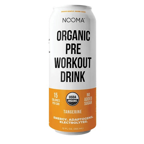 Nooma Organic- TANGERINE- Pre Workout Drink