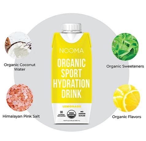 Nooma Organic- Lemonade - Sport Hydration Drink