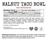 Meal Prep: Walnut Taco Bowl