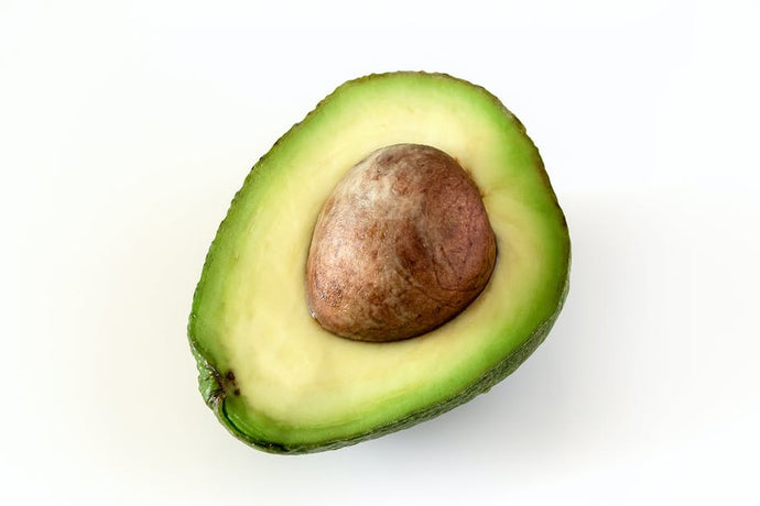 Half Fresh Avocado