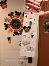 Load image into Gallery viewer, Disney Cruise Stateroom Door - 3D Printed Ornament