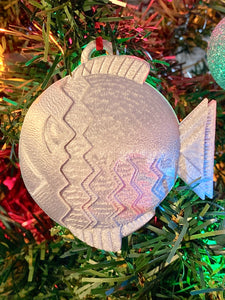 Disney Cruise Fish Hook - 3D Printed Ornament