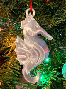 Disney Cruise Seahorse Hook - 3D Printed Ornament
