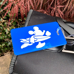 Surfing Mouse Luggage Tag
