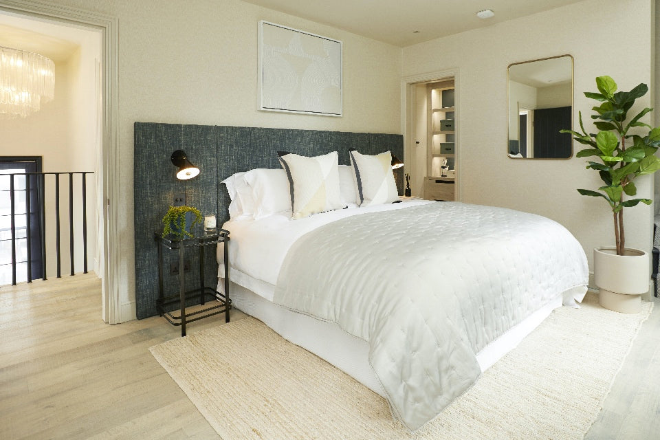 Main bedroom in the Omaze Million Pound House London