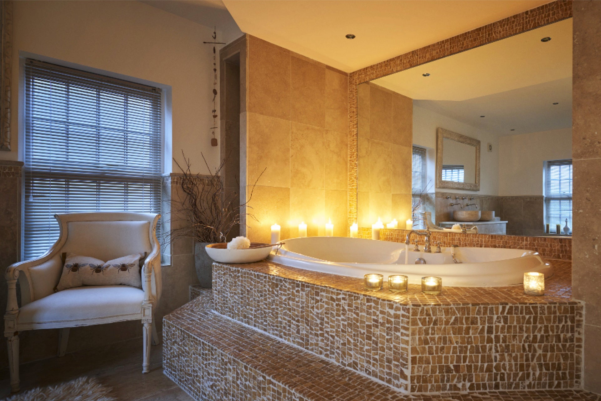 Candle Lit Luxury Bath