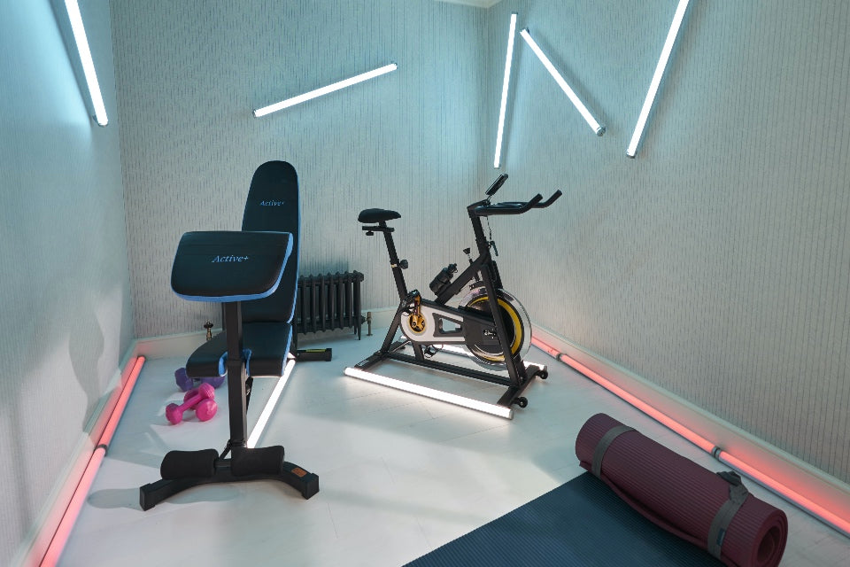 Home Gym in Million Pound House