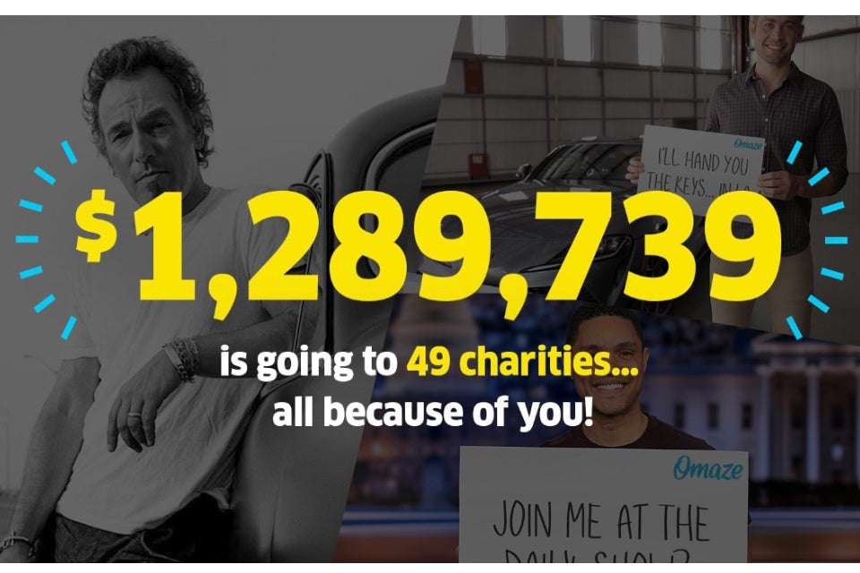 $1,289,739 is going to 49 charities all because of you