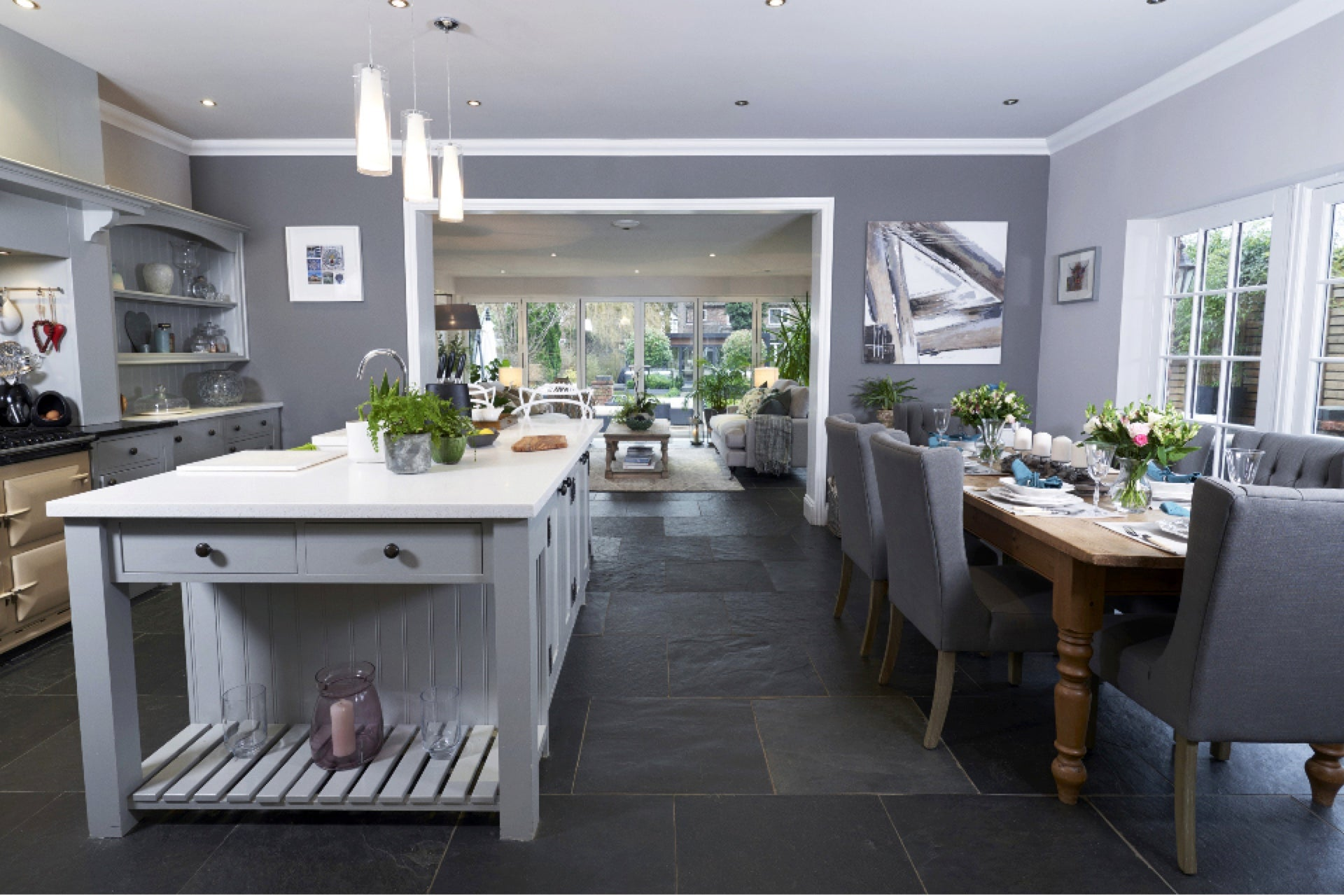 Open Plan Kitchen Garden Room