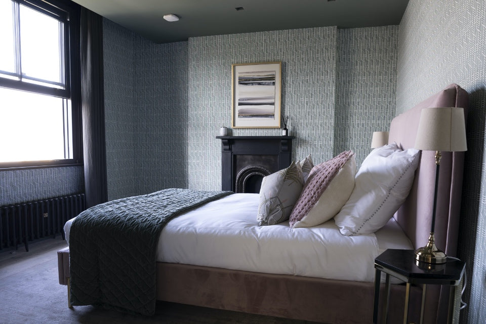 Second bedroom with window in Omaze Million Pound House