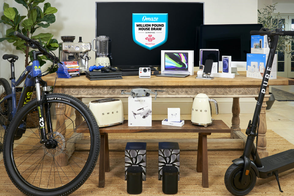 £20k Tech Hamper prize in House draw competition