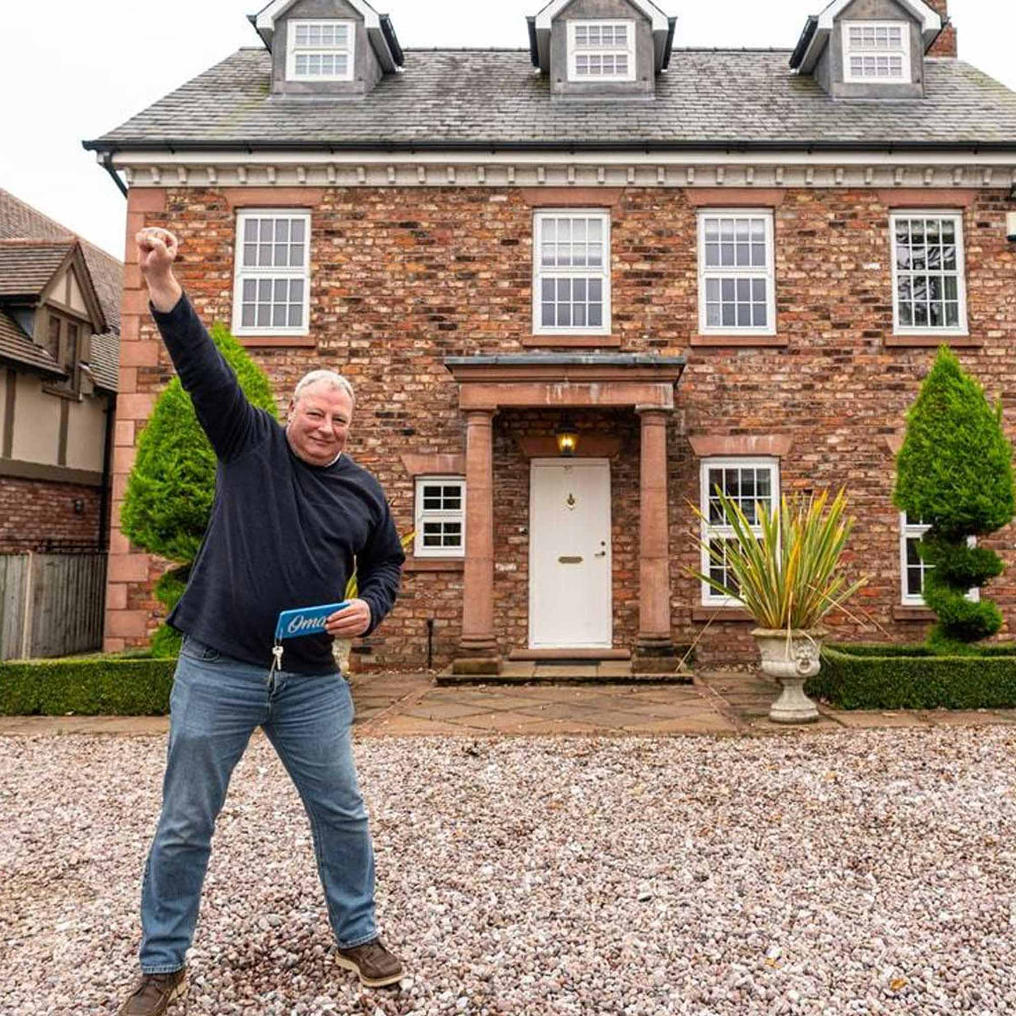 Winner of Million Pound House competition
