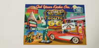 Postcard Get Your Kicks on Historic Route 66