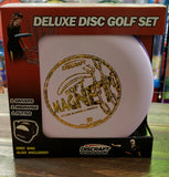 DELUXE DISC GOLF SET WITH BAG