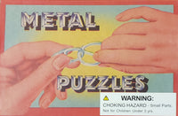6 Metal Puzzles
