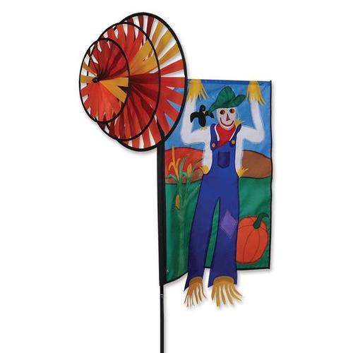 Triple Spinner Scarecrow