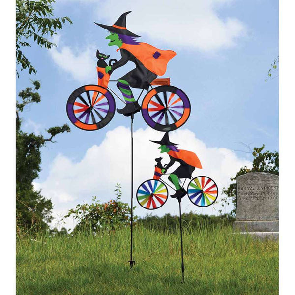 20 in. Bike Spinner - Witch