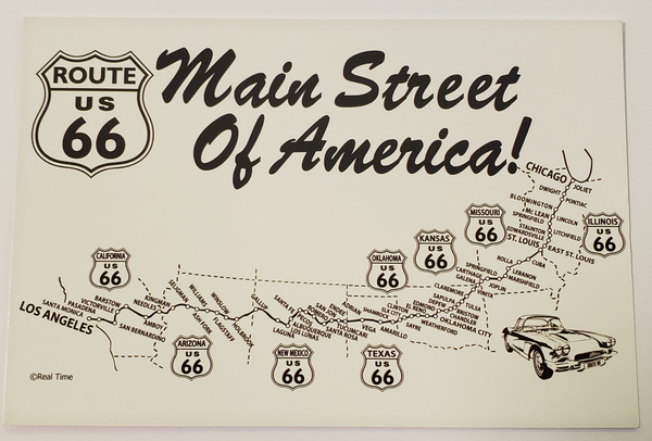 US Route 66 Main Street of America