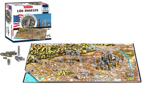 4d Cityscape Puzzle - Los Angeles, USA