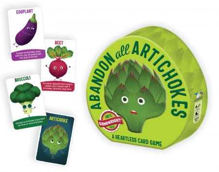 Abandon All Artichokes - A Heartless Card Game