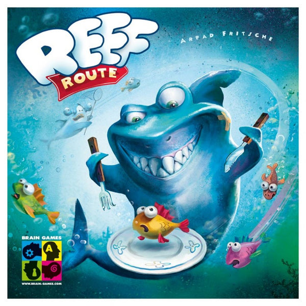 Reef Route Children's Board Game