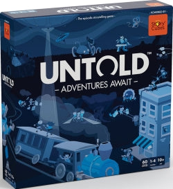 Untold Adventures Await Strategy Co-Operative Board Game Rory's Story Cubes